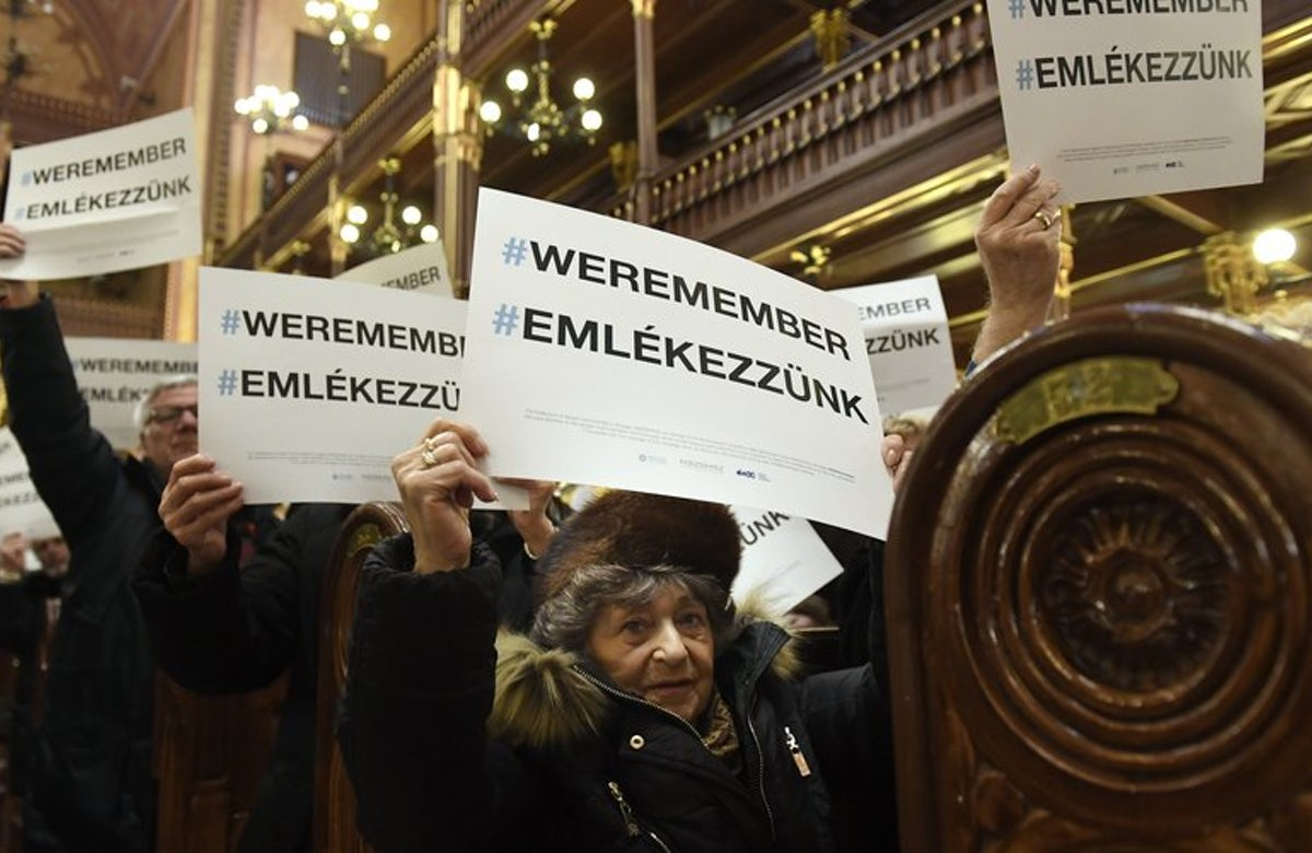 Hungarian Jews join World Jewish Congress' We Remember campaign