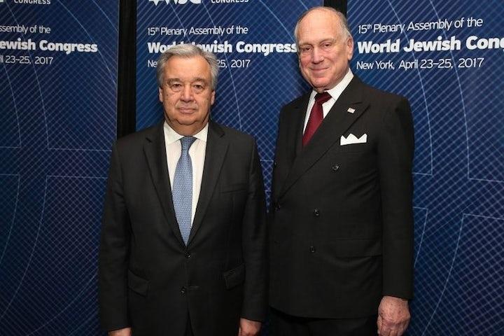 UN Secretary general condemns Pittsburgh shooting, conveys solidarity with WJC