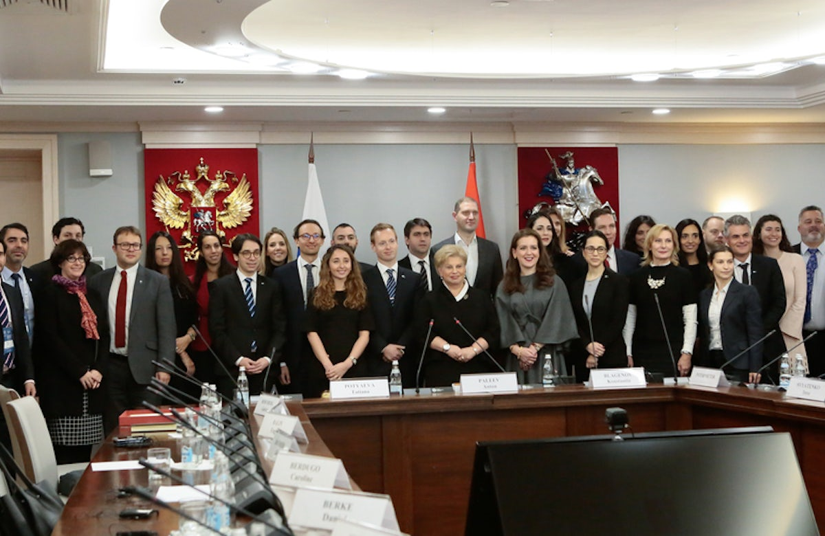 WJC Jewish Diplomatic Corps official visit to Moscow City Duma