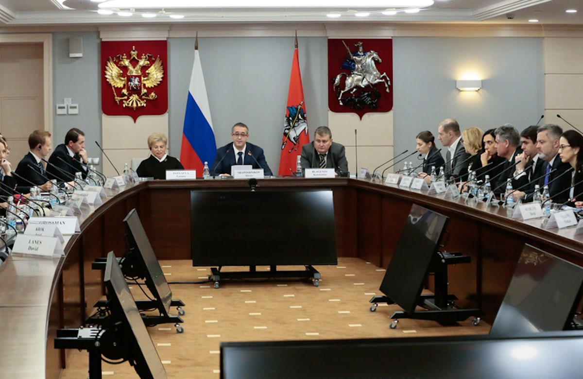 WJC Jewish Diplomatic Corps in Moscow: Advocating for Jewish rights worldwide