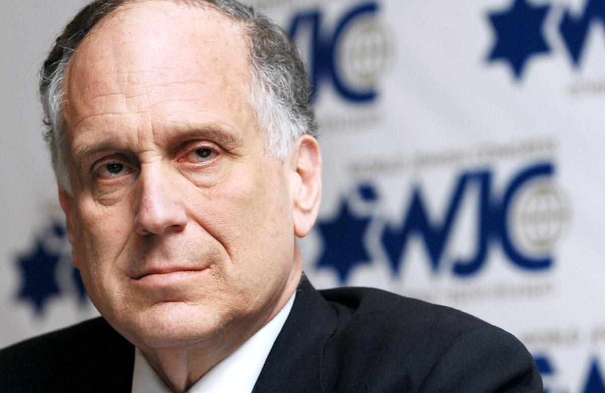 WJC President Ronald S. Lauder calls on international community to urge Hamas to cease rocket barrage against Israel