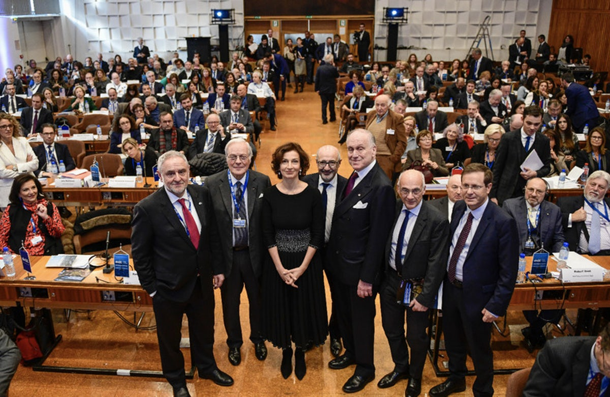 World Jewish Congress brings presidents representing more than 100 Jewish communities worldwide to UNESCO for unprecedented meeting