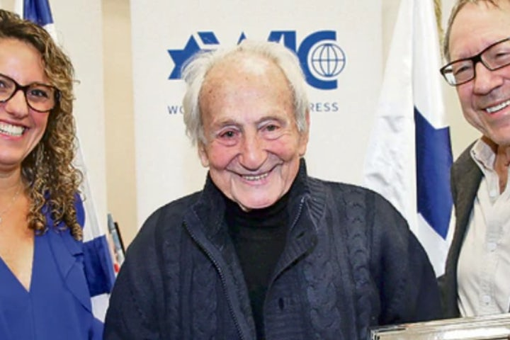World Jewish Congress mourns death of Noah Klieger, recipient of 2018 WJC We Remember Award
