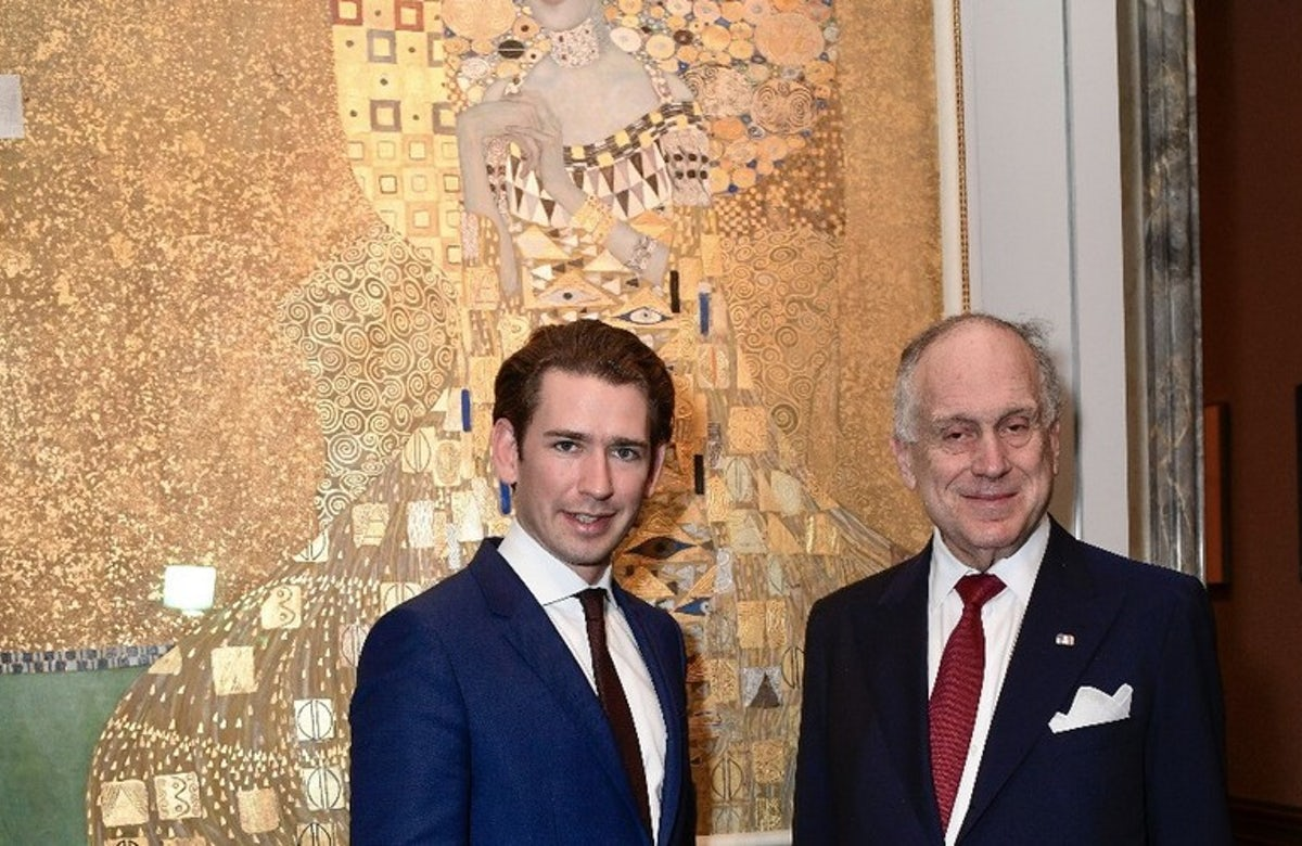 WJC President Lauder welcomes Austria Chancellor Kurz's firm stance against antisemitism in meeting with Malaysian PM