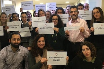 Jewish groups around the world join 'We Remember' campaign to mark HMD