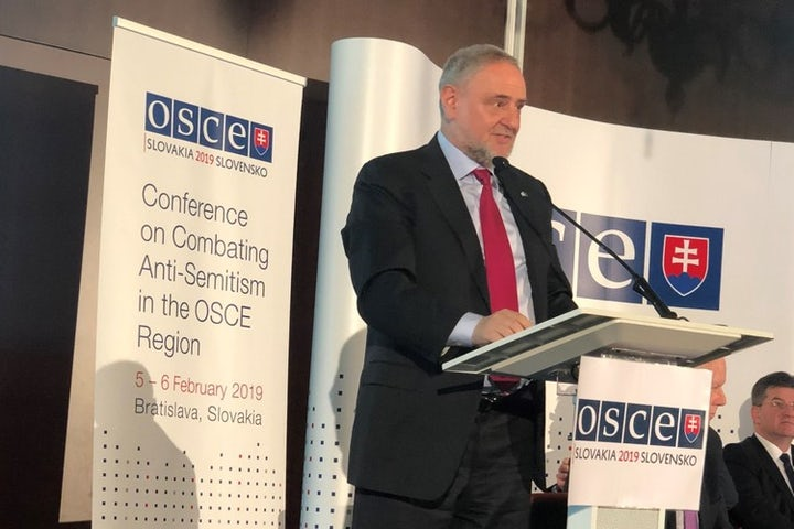 World Jewish Congress CEO Robert Singer at OSCE conference: Antisemitism is no longer the extreme – it is mainstream