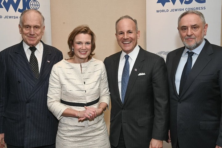 """Lauder addresses special EU conference: """"Europe is at a turning point - we must work together to fight antisemitism"""""""
