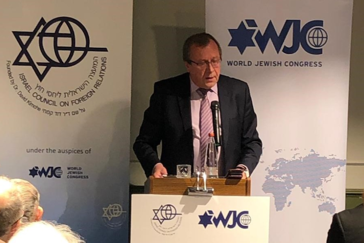 Russian ambassador to Israel tells WJC forum: We oppose Tehran's call to destroy Israel, but Syrian conflict can't be solved by fighting Iran
