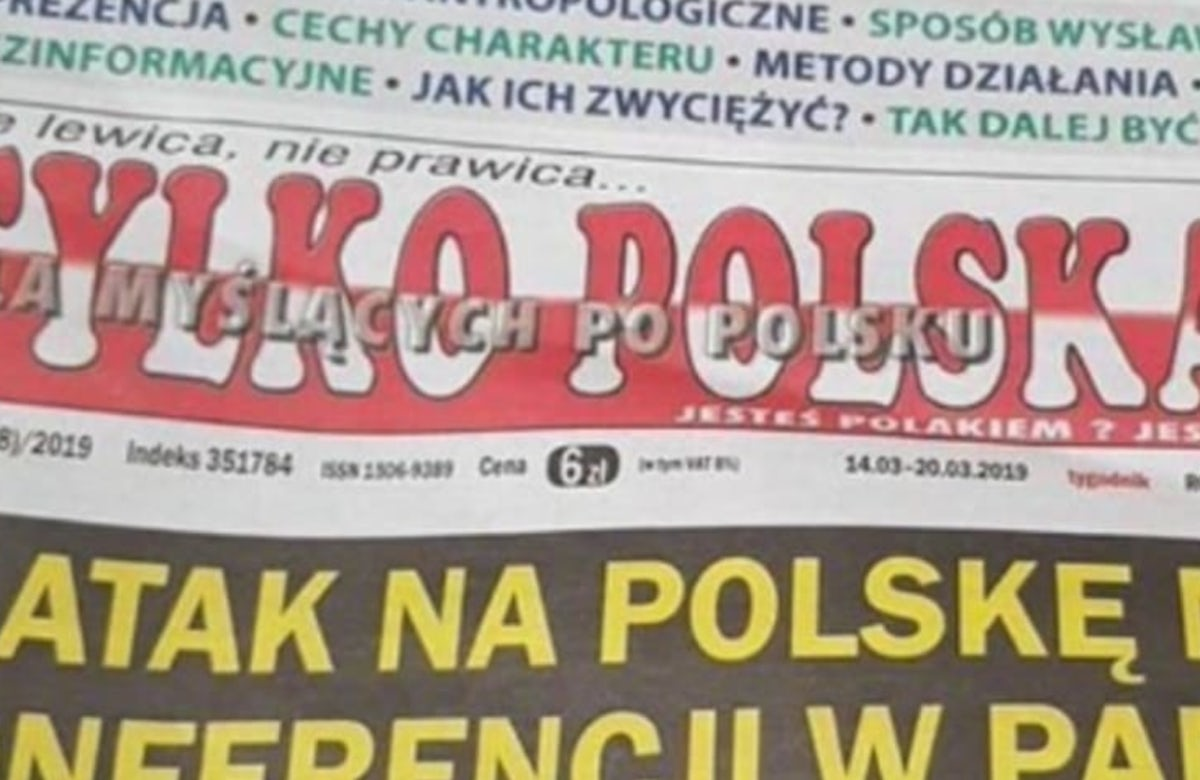 World Jewish Congress praises Polish president for denouncing antisemitic newspaper