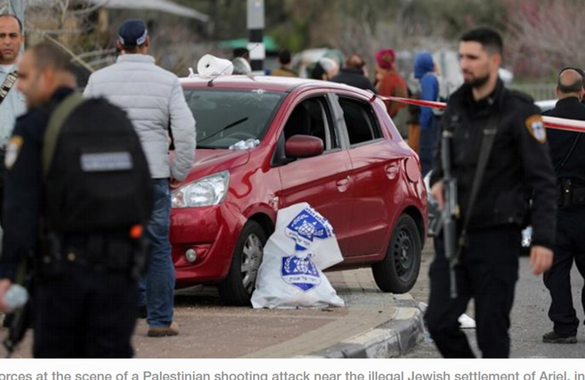 WJC responds to attack in Ariel: 'We call on the international community to condemn this outrage and to work together to prevent such attacks in the future'