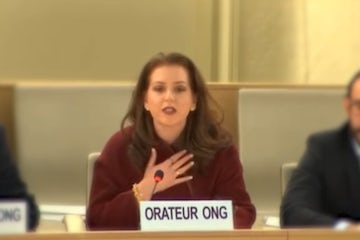 WJC at UNHRC hours before Purim: Hamas is even more brutal than the Persians