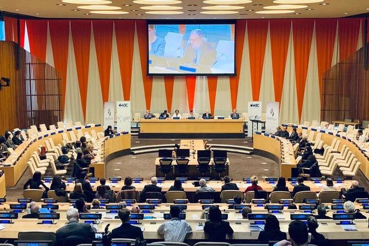 WJC and Rwanda's Mission to UN present Father Patrick Desbois with first Raphael Lemkin Award in honor of his dedication to exposing genocide crimes