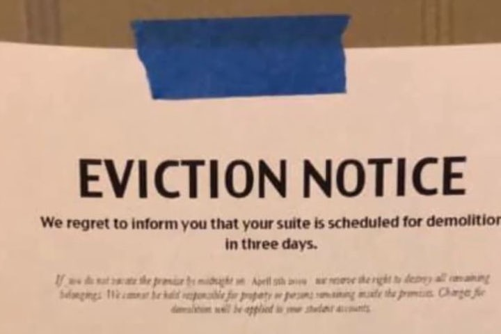 WATCH: Jewish students at Emory University wake up to eviction notices placed by pro-Palestinian group