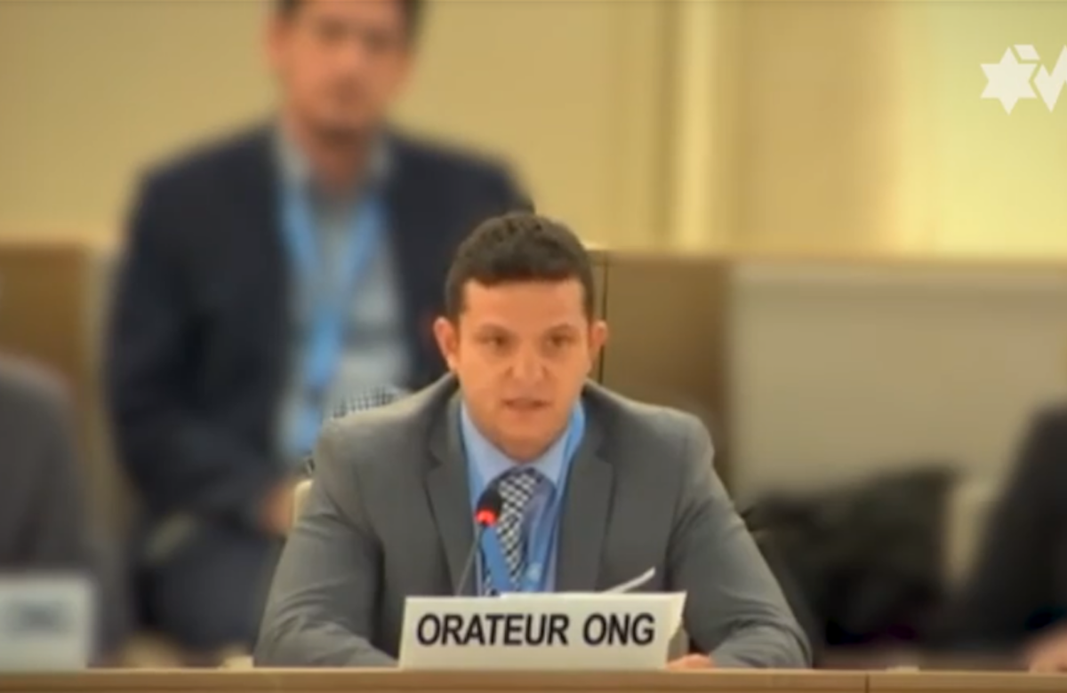 WJC at the UNHRC: Anti-Zionism is a politically correct disguise of traditional antisemitism to attack the Jewish people