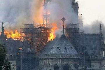 WJC stands in solidarity with France and Catholic Church amid devastating Notre Dame fire