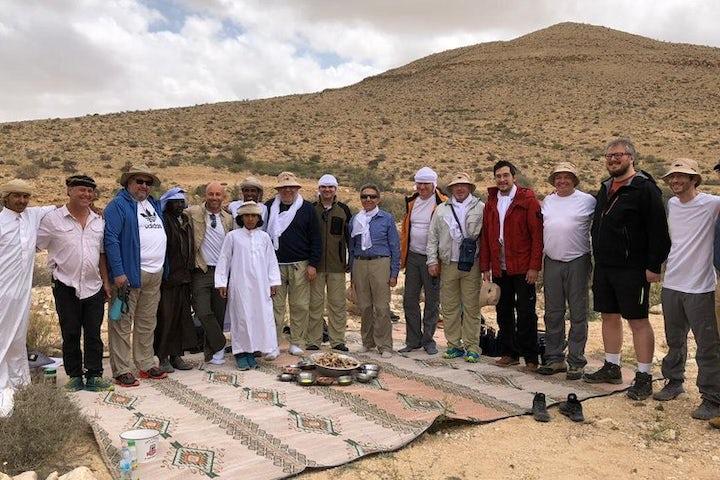 Russian business elite embark on four-day pilgrimage to Jerusalem through Israeli desert