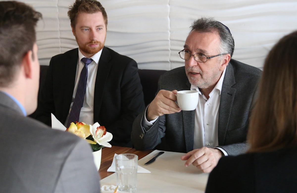 Hungarian Jewish leader meets US Congressional delegation