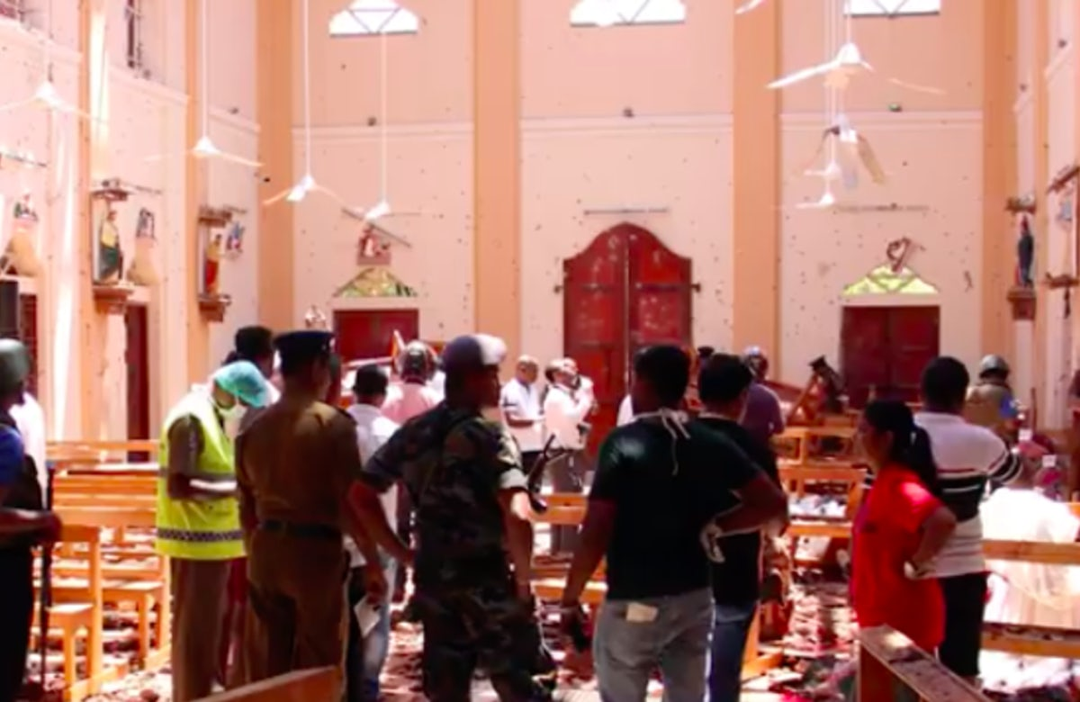 World Jewish Congress President Ronald S. Lauder dennounces 'heinous outrage' after attacks in Sri Lanka kill more than 150 people