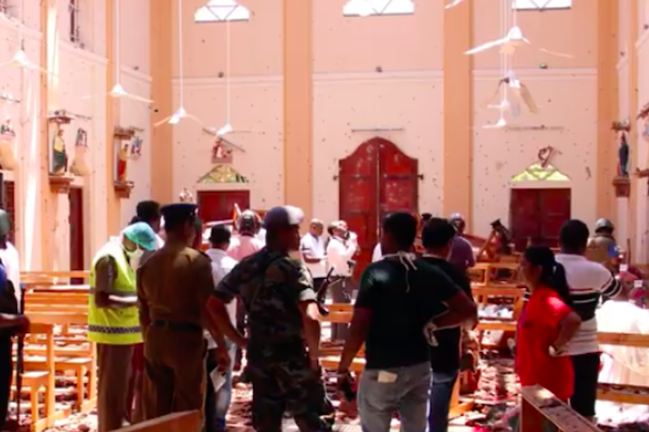 World Jewish Congress President Ronald S. Lauder dennounces 'heinous outrage' after attacks in Sri Lanka kill more than 350 people