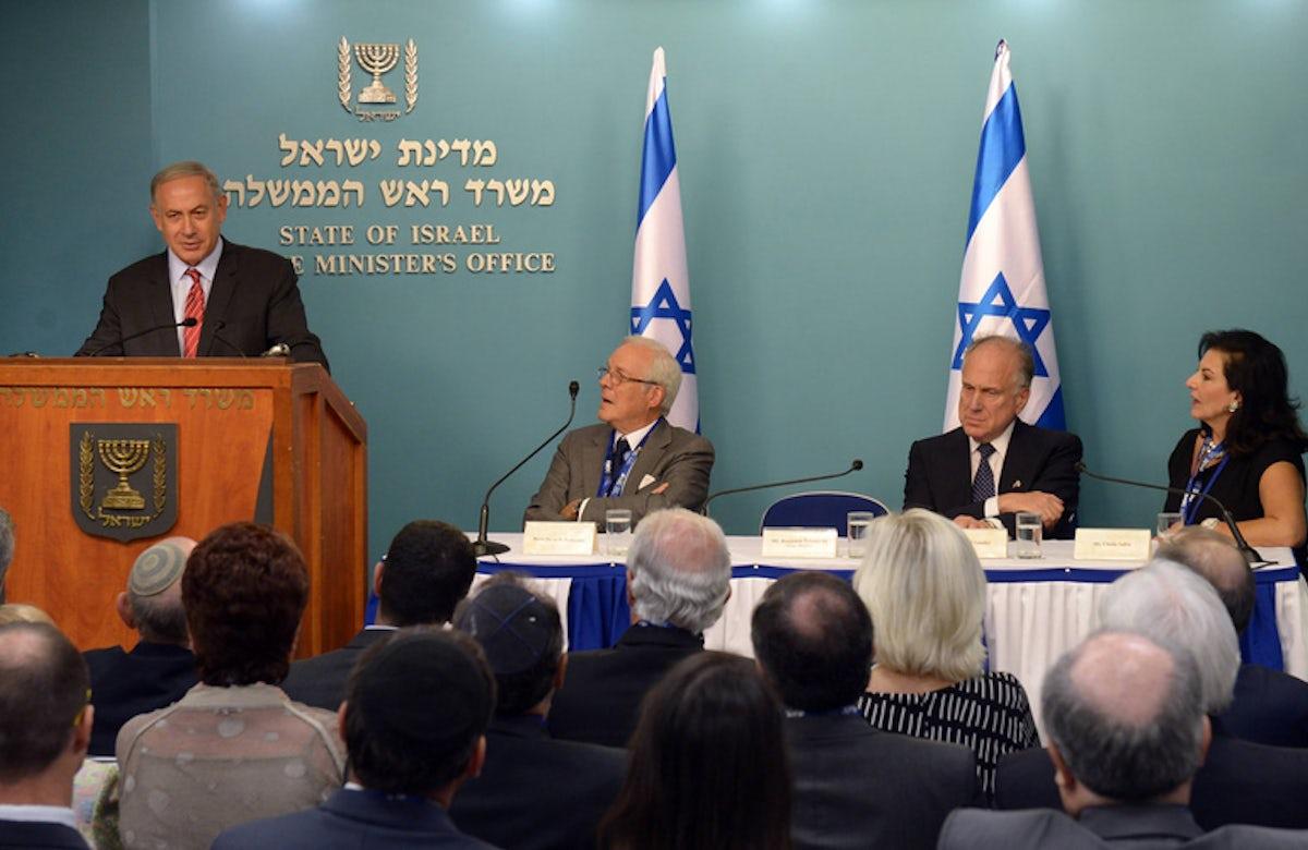 World Jewish Congress Leaders Congratulate Israeli PM Benjamin Netanyahu Following Election Victory