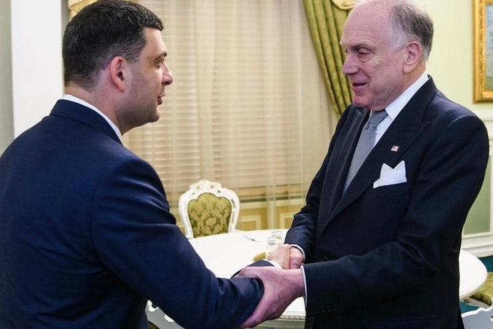 At inaugural Kyiv Jewish Forum, WJC President Ronald S. Lauder awarded Sheptytsky Medal for deepening relations between Ukrainians and Jews