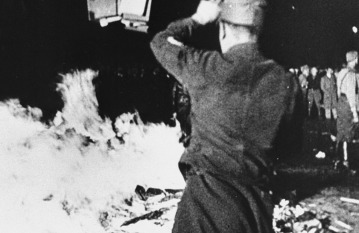 WATCH: The Nazi book burnings: A history of hatred