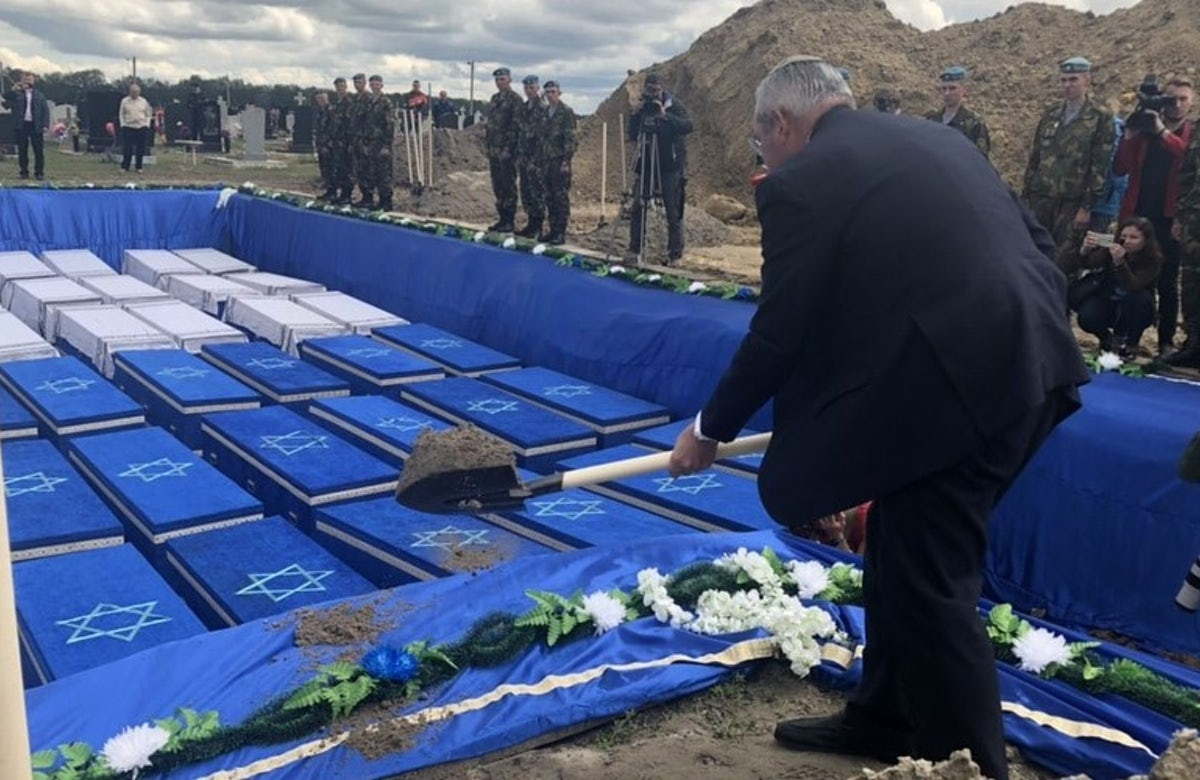World Jewish Congress welcomes burial of Jewish remains found in Belarus, urges governments across Europe to follow suit