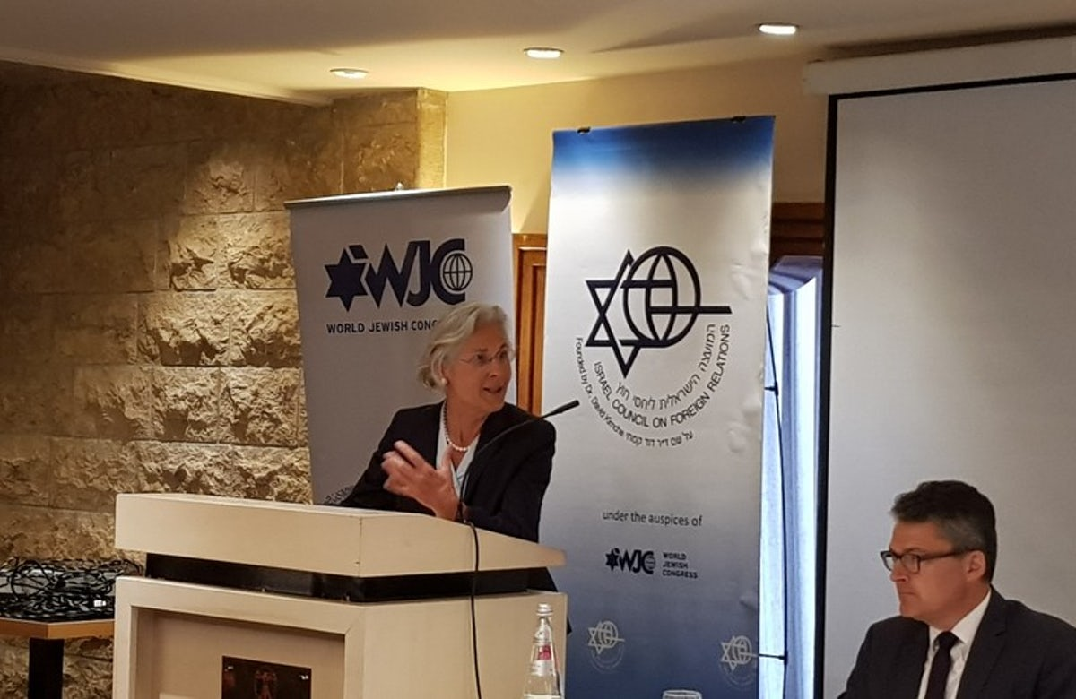 At Jerusalem forum co-hosted by WJC, German ambassador says antisemitism won't be tolerated