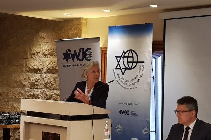 'The kippah belongs to Germany,' German Ambassador to Israel tells forum co-hosted by WJC