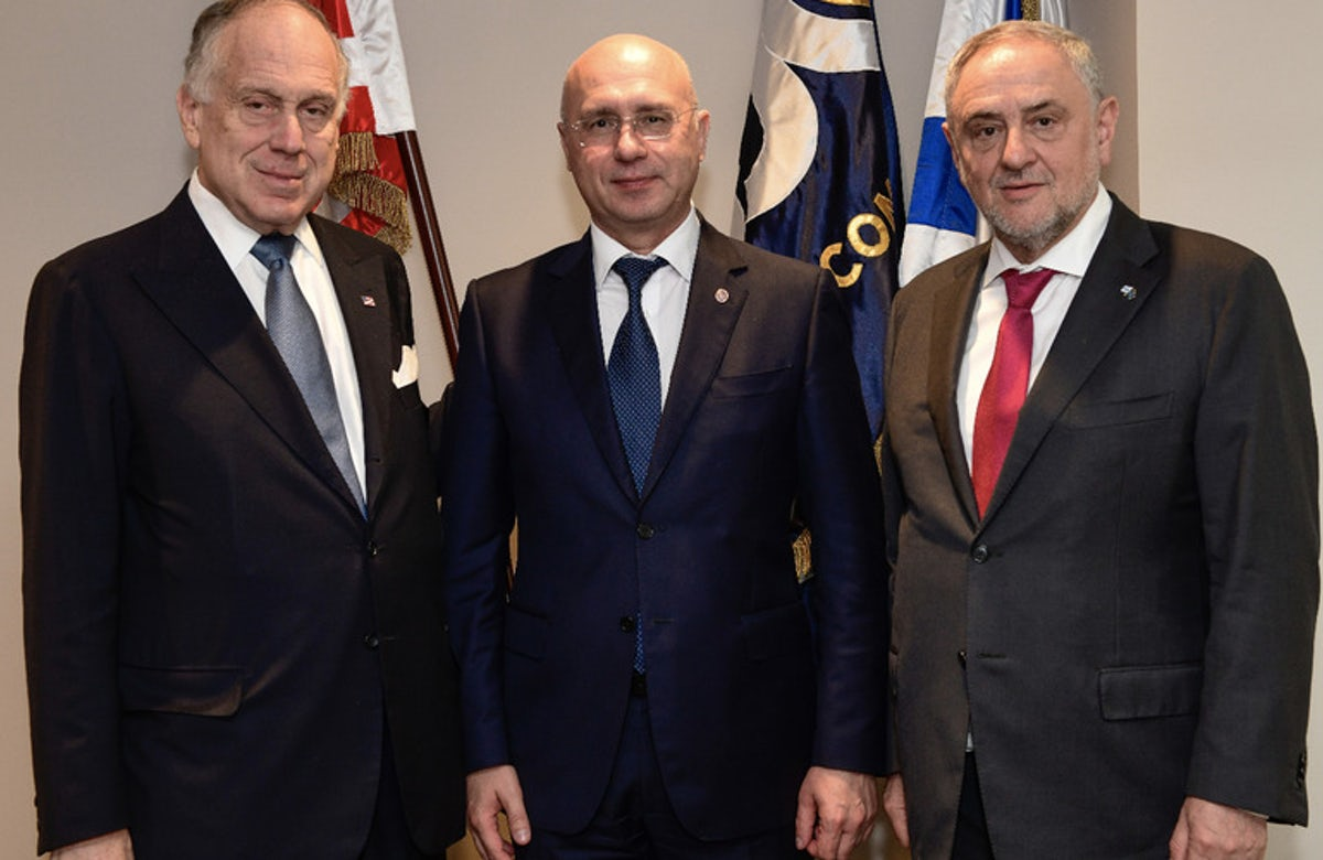 WJC welcomes Moldova's decision to move embassy to Jerusalem