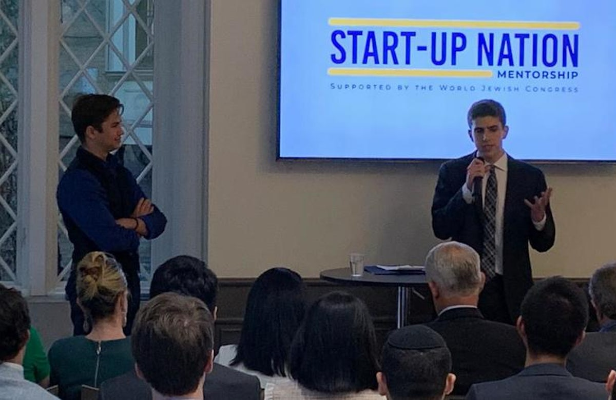Start-Up Nation Mentorship pairs non-Jewish American students with Israeli professionals to present a different face of Israel