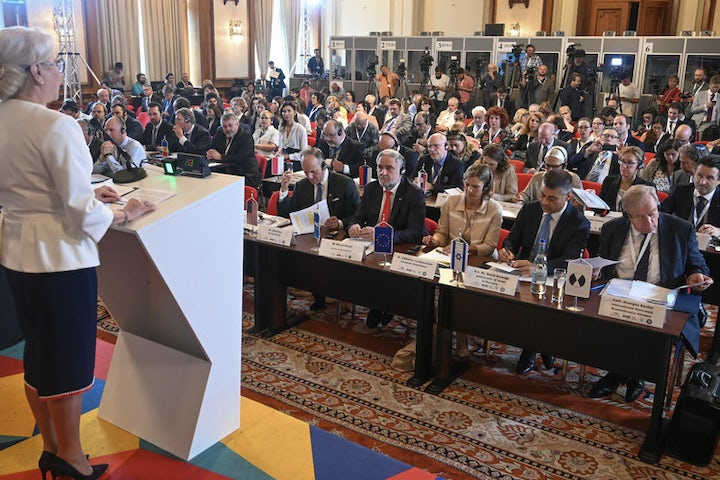 EU presidency issues official declaration affirming commitment to fighting antisemitism, at high-level conference initiated by World Jewish Congress