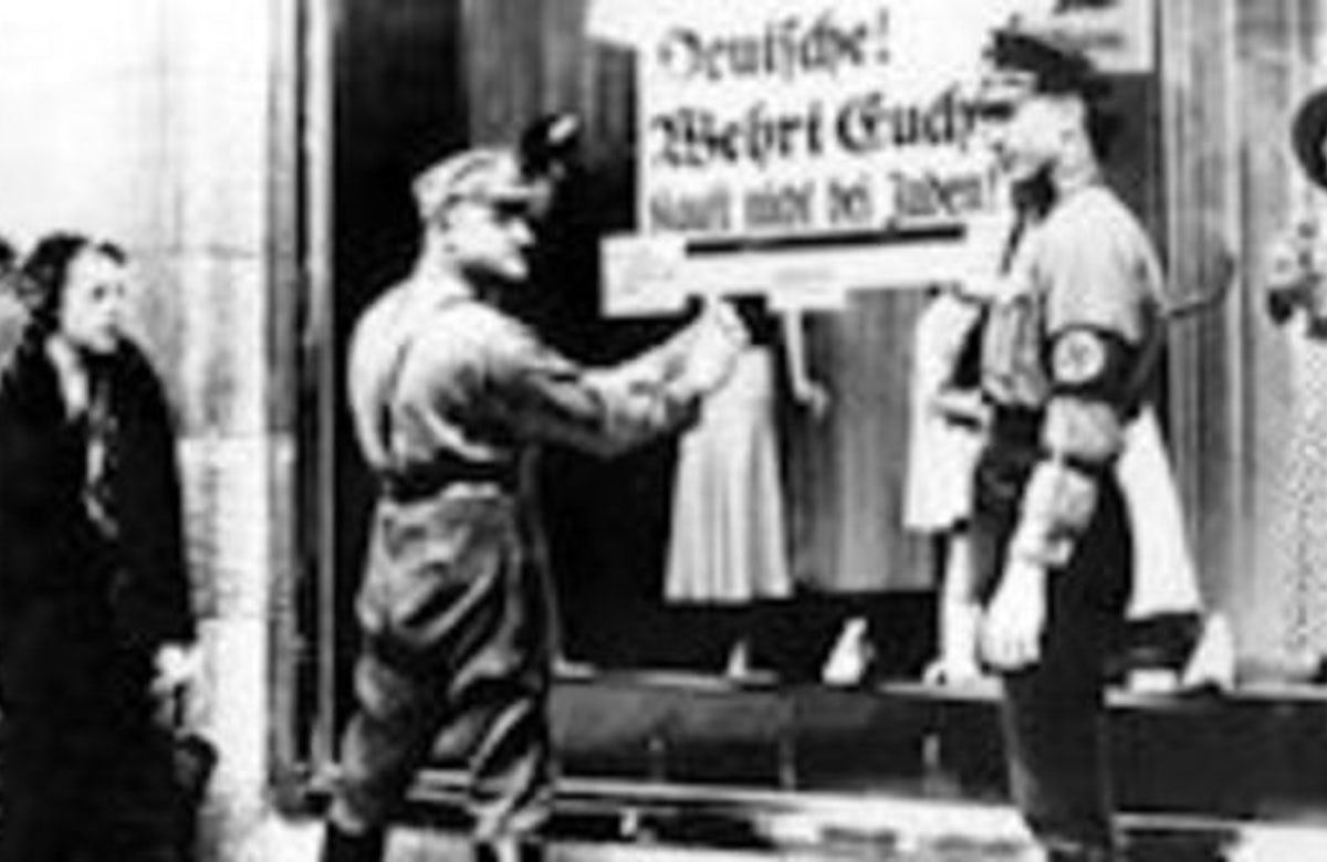 A third of Nazis' war effort funded with money stolen from Jews, study finds