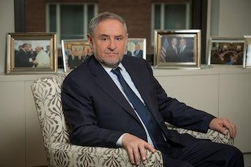 WJC CEO Robert Singer talks to Israel's Channel 9 (Hebrew)