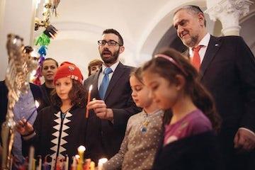 Hanukkah greeting from WJC CEO Robert Singer
