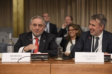 WJC CEO Robert Singer address at the Rome International Conference on Anti-Semitism