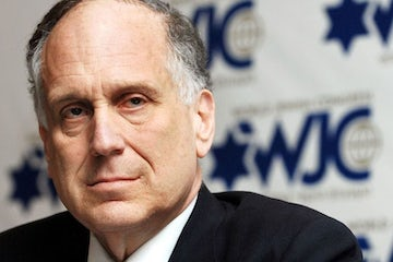 Ronald S. Lauder: '75 years later, we are here to remember everything' (in Hebrew)