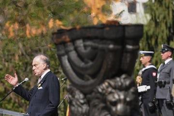 WJC President Lauder addresses commemoration of Warsaw Ghetto Uprising (Livestreaming provided by Telewizja Polska S.A.)