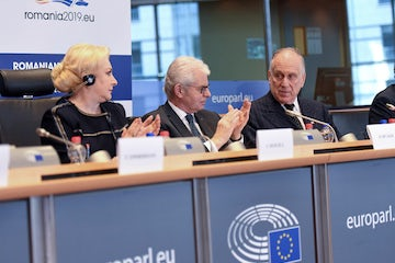 WJC President Ronald S. Lauder addresses Fight Against Antisemitism Conference in Brussels